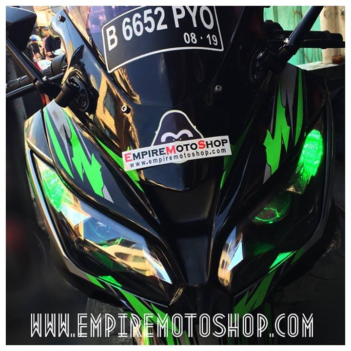 Top modifikasi lampu ninja 250 fi