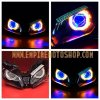 Proyektor Demon eyes Octagon + Headlamp N250FI
