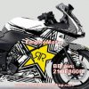 Sticker Decal Rockstar Full Body