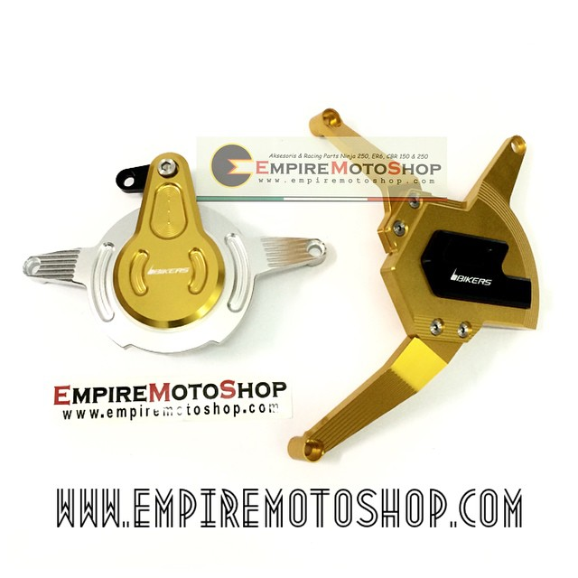 Cover Engine Bikers Gold Kawasaki Ninja 250 FI (Taiwan)