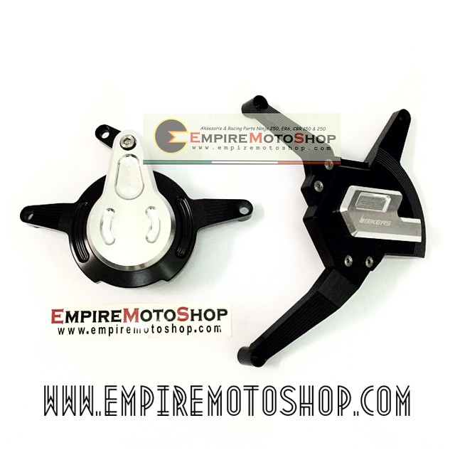 Cover Engine Bikers Black Kawasaki Ninja 250 FI (Taiwan)