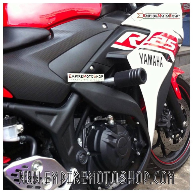 Crash Protector CNC Yamaha R25 / MT25