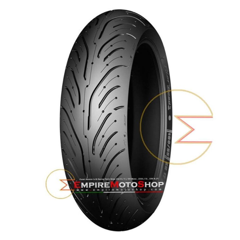 Ban Michelin Pilot Road 4 uk 180/55-17