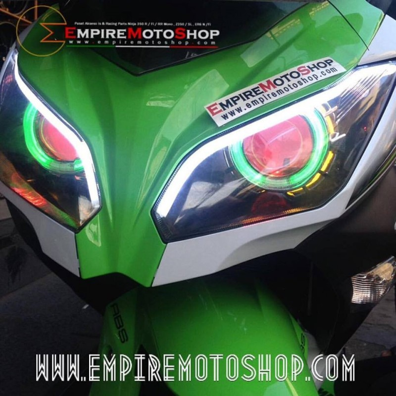 Proyektor  AES6 + Headlamp + Top Eyelid N250FI