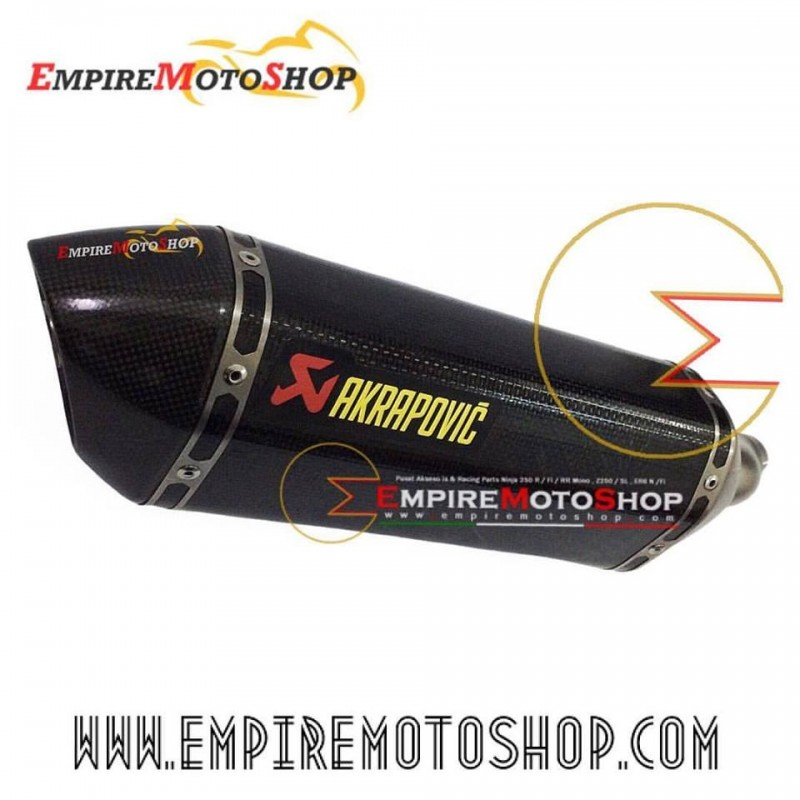 Knalpot Akrapovic Carbon Slip on N250FI
